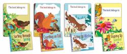 Math in Nature series bookplates