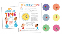 It's About Time telling time activities