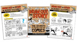 Draw Out the Story create-your-own-comic activity pages