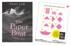 The Paper Boat paper folding activity