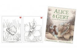 Alice and Gert coloring sheets