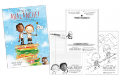 Pierre & Paul: Avalanche! activity and coloring sheets