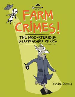 Farm Crimes! The MOO-sterious Disappearance of Cow Cover